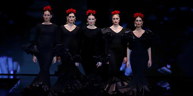 Simof 2019. Alejandro Santizo. Moda Flamenca