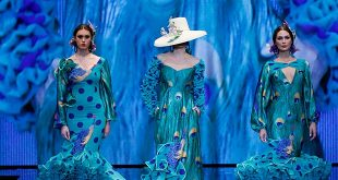 Simof 2019. Ana Morón. Moda Flamenca.