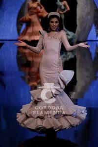 Simof 2019. Antonio Gutiérrez. Moda Flamenca
