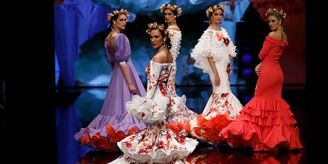 Simof 2019. Carmen Vega. Moda Flamenca