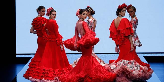 Simof 2019. Cristina Vázquez. Moda Flamenca