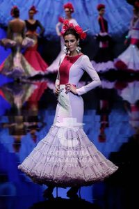 Simof 2019. Javier García. Moda Flamenca