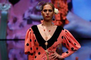 Simof 2019. María Ramírez Flamenca. Moda Flamenca