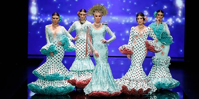 Simof 2019. Mayka Santos. Moda Flamenca