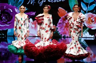 Simof 2019. Miriam Galvín, Moda Flamenca