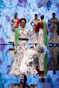 Simof 2019. Pilar Rubio. Moda Flamenca