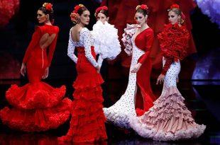 Simof 2019. Verónica de la Vega. Moda Flamenca