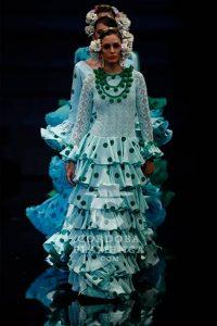 Simof 2019. Yolanda Rivas. Moda Flamenca