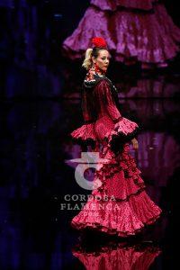 Simof 2019. Aurora Gaviño. Moda Flamenca