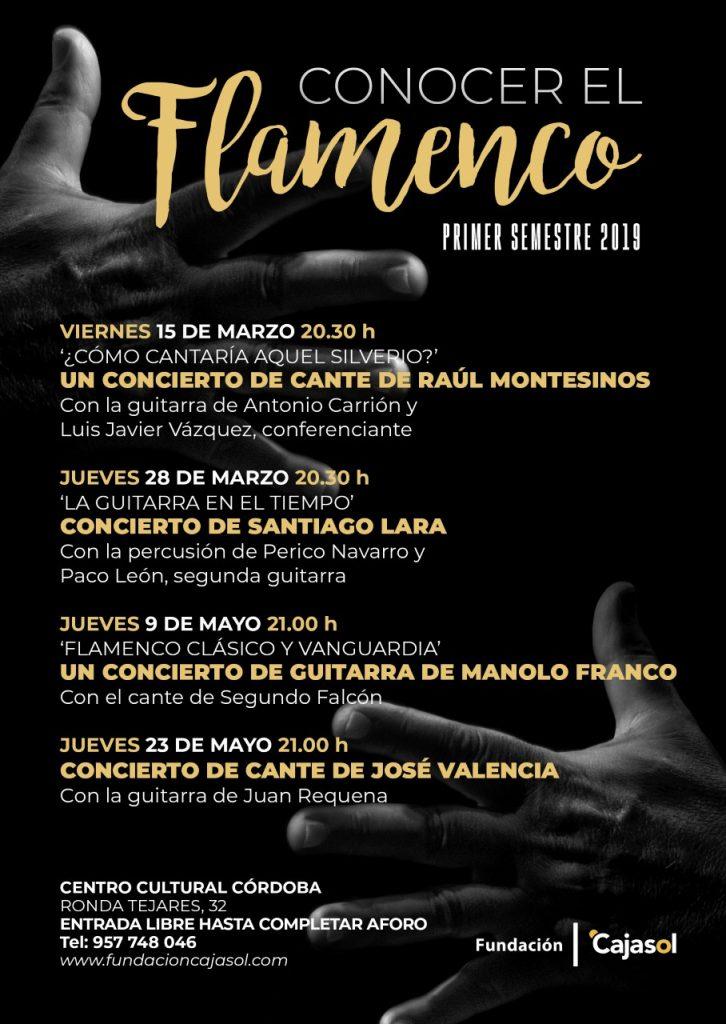 Conocer el Flamenco | José Valencia @ Centro Cultural Cajasol | Córdoba | Andalucía | España