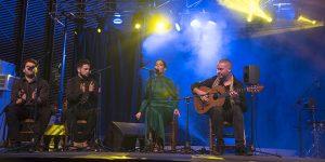 Actuación de la cantaora Ángeles Toledano en la Noche Blanca del Flamenco 2019. Foto: Toni Blanco.