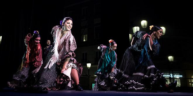 Ballet Flamenco de Andalucía en la Noche Blanca del Flamenco. Foto: M. Valverde.