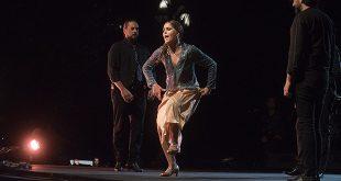 Patricia Guerrero, en la Noche Blanca del Flamenco 2019. Foto: Toni Blanco.