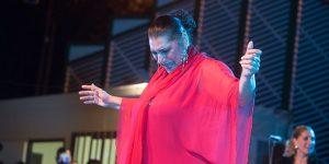 Concierto de Remedios Amaya en la Noche Blanca del Flamenco 2019. Foto: Toni Blanco