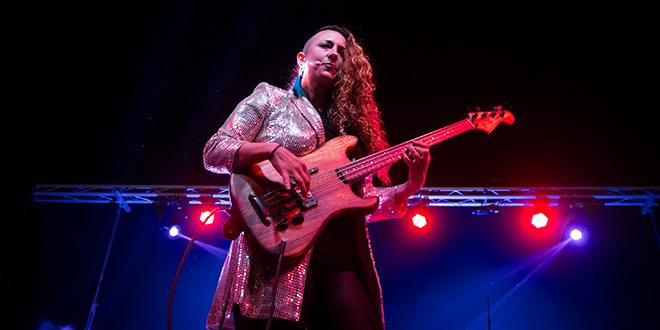 Rosario 'La Tremendita', en el fin de fiesta de la Noche Blanca del Flamenco 2019. Foto: M. Valverde.