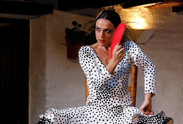 Ana María García 'Anamarga'. Bailaora de Flamenco. Foto: David Hidalgo