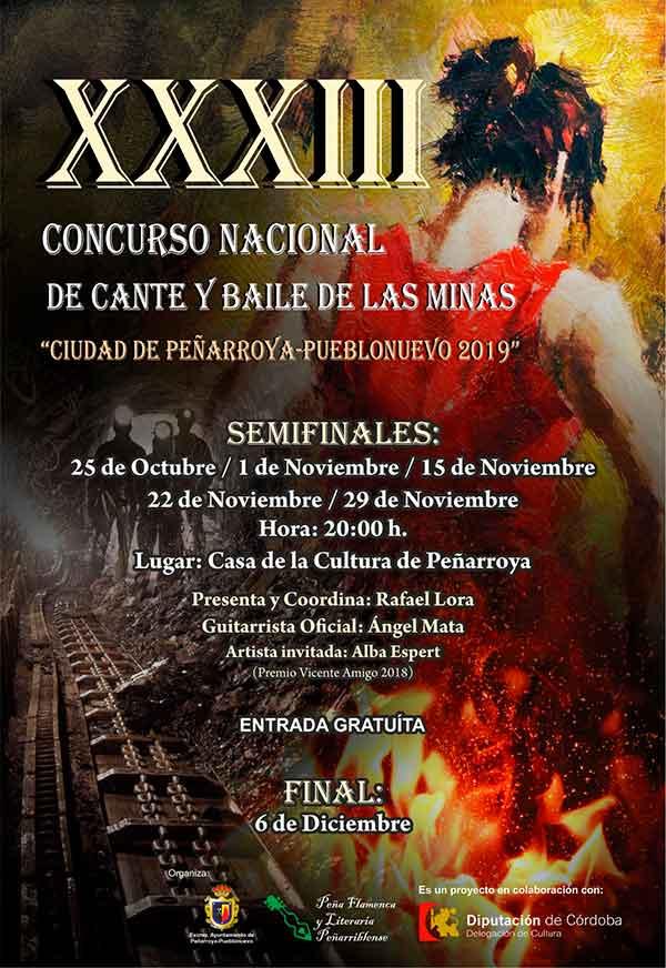 Concurso de Cante y Baile de las Minas de Peñarroya | Selección @ Casa de la Cultura de Peñarroya | Peñarroya-Pueblonuevo | Andalucía | España