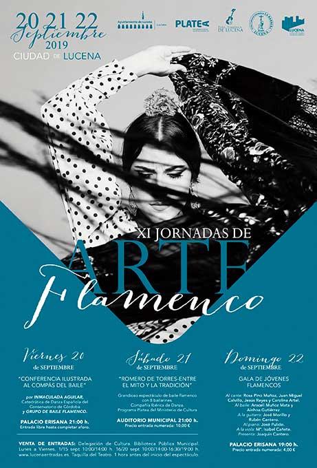 XI Jornadas de Arte Flamenco de Lucena | Gala de Jóvenes Flamencos @ Palacio Erisana | Lucena | España