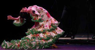 Actuación de la bailaora Águeda Saavedra, en la fase clasificatoria del XXII Concurso Nacional de Arte Flamenco de Córdoba. Foto: IMAE.
