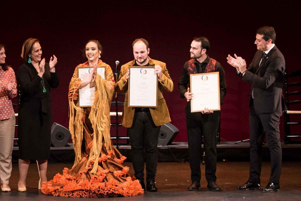Gala de entrega de premios de la XXII Concurso Nacional de Arte Flamenco de Córdoba. Foto: M: Valverde.