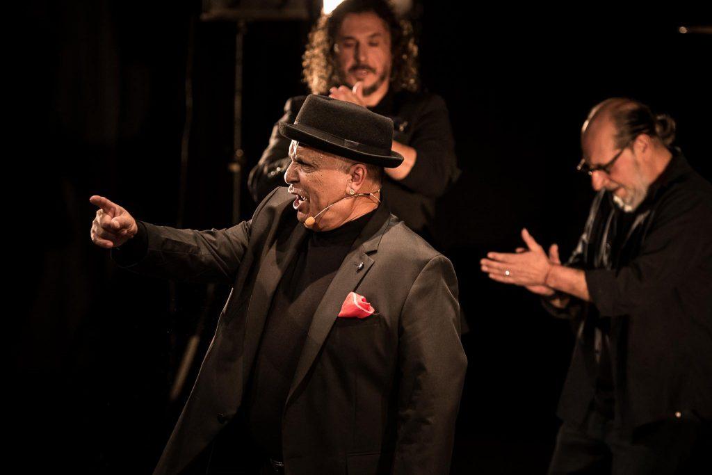 Espectáculo 'Mapa Mundo' de Manuel Moreno Maya 'El Pele' en el Gran Teatro de Córdoba. Foto: M. Valverde.