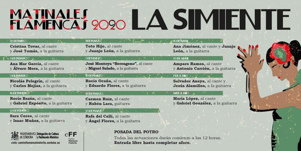 Matinales Flamencas 2020.