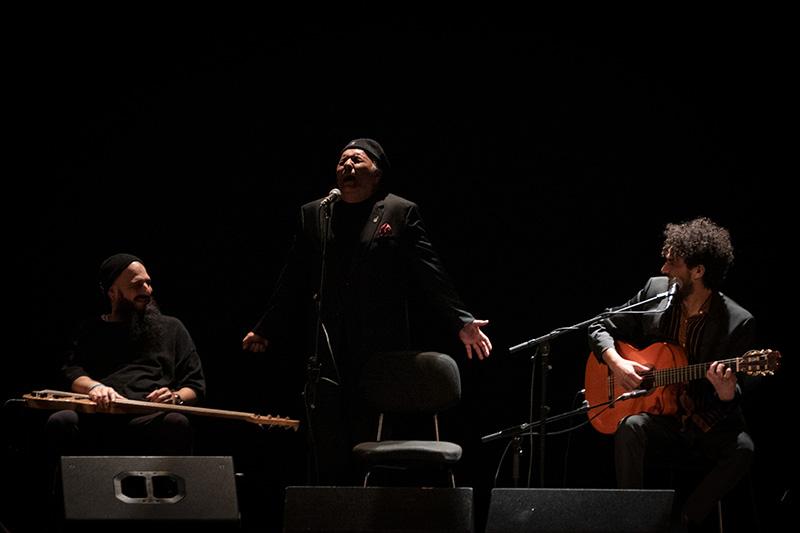 Concierto 'Gitanerías' de Lin Cortés en el Teatro Góngora. Foto: A. Higuera.