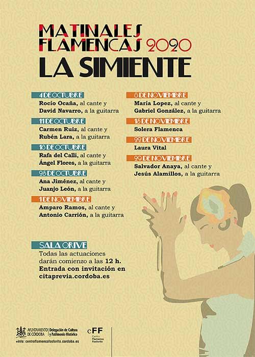 Matinales Flamencas @ Sala Orive | Córdoba | Andalucía | España