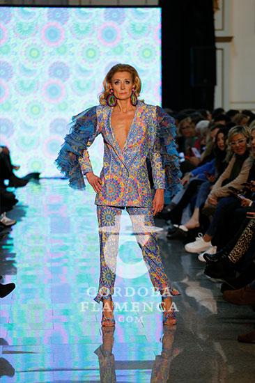 Nueva colección de moda flamenca del diseñador cordobés Andrew Pocrid en Córdoba. Fotos: Marta Villalón.