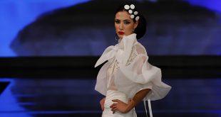 Nueva colección de trajes de flamenca de Francisco Tamaral en Simof 2020. Foto: Chema Soler.