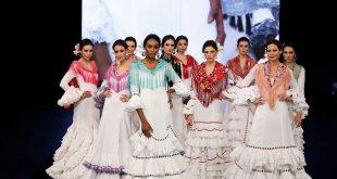 Nueva colección de trajes de flamenca de Miabril en Simof. Fotos: Chema Soler.
