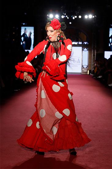 Nueva colección de moda flamenca de Fundación Alalá en la pasarela We love Flamenco 2020. Fotos. Chema Soler.