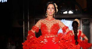 Nueva colección de la firma El Abanico Artesanía en We love Flamenco 2020. Fotos: Chema Soler.