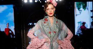 Nueva colección de trajes de flamenca de Carmen Acedo en la pasarela We love Flamenco 2020. Foto: Chema Soler.