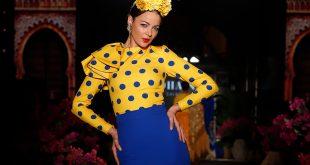 Nueva colección de trajes de flamenca de Johanna Calderón en We love Flamenco 2020. Foto: Chema Soler.