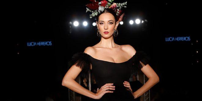 Nueva colección de moda flamenca de Lucía Herreros en We love Flamenco 2020. Foto: Chema Soler.