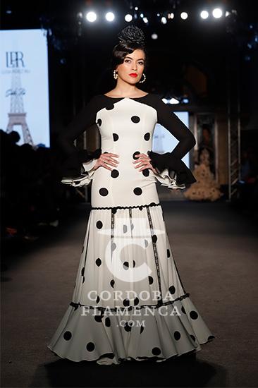 Nueva colección de trajes de flamenca de Luisa Pérez en We love Flamenco 2020. Fotos: Chema Soler.
