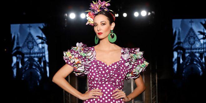 Nueva colección de moda flamenca de la diseñadora Manuela Martínez en We love Flamenco. Fotos: Chema Soler.