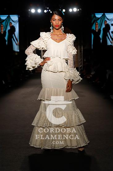 Nueva colección de trajes de flamenca de Mönica Mëndez en We love Flamenco 2020. Foto: Chema Soler.