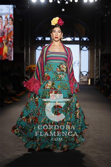 Nueva colección de trajes de flamenca de la firma Flamenca Pol Núñez en We love Flamenco 2020. Foto: Chema Soler.