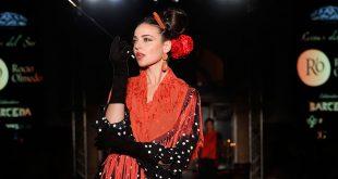 Nueva colección de la diseñadora Rocío Olmedo en We love flamenco 2020. Fotos: Chema Soler.