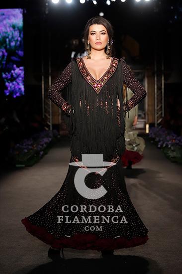 Nueva colección de moda flamenca de la firma Ventura en We love Flamenco. Foto: Chema Soler.