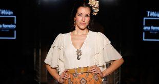 Nueva colección de moda flamenca de Ana Ferreiro en We love Flamenco 2020. Foto: Chema Soler.