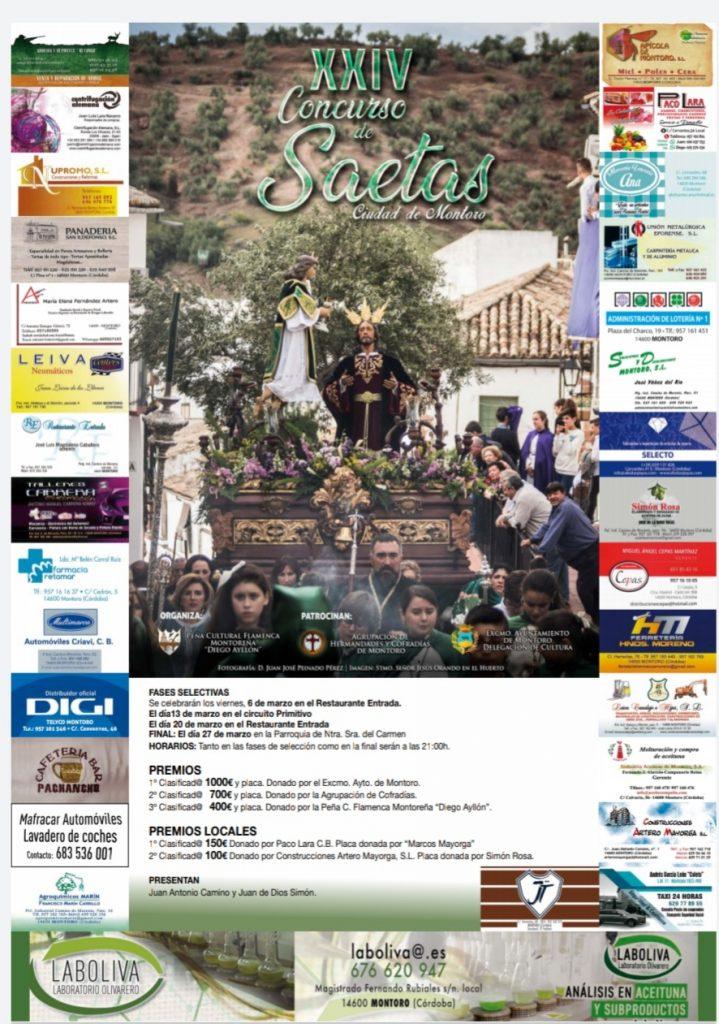 XXIV Concurso de Saetas Ciudad de Montoro @ Montoro | Montoro | Andalucía | España