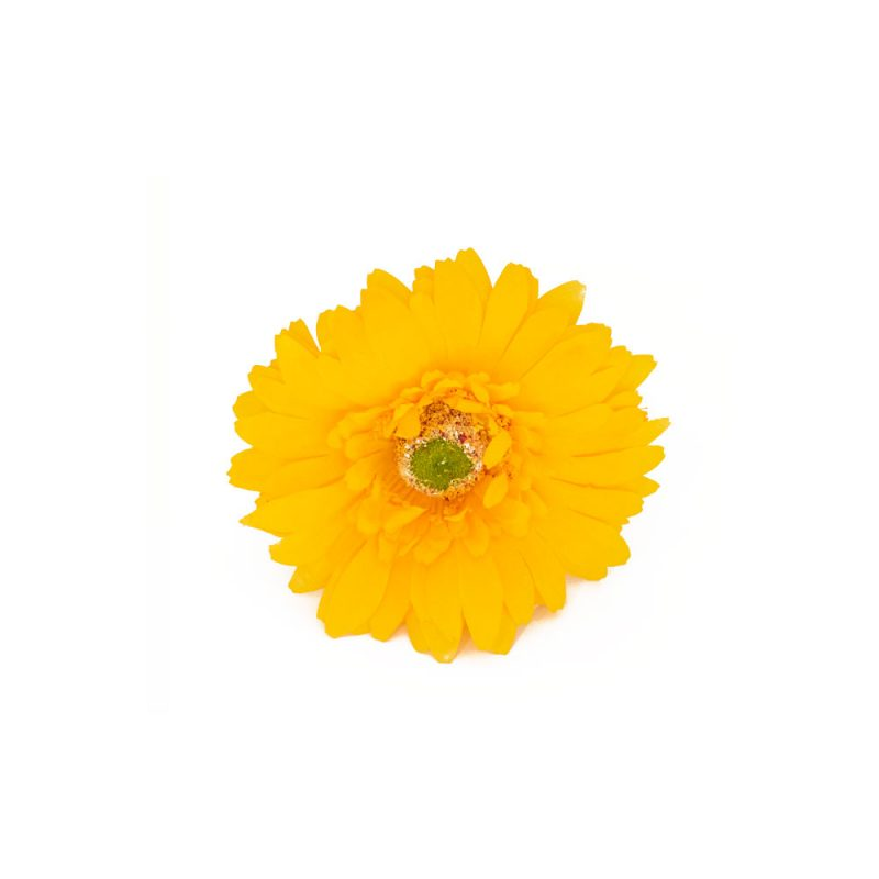Flores de Flamenca - Flor de flamenca margarita- Margarita de Tela - Moda Flamenca 2020 - Flores de Flamenca 2020 - Complementos de Flamencas 2020 - Flores de flamencas artesanales - Ramilletes y flores de tela - Flores de flamenca para el pelo -Flores de flamenca amarillas - flores de flamenca blancas