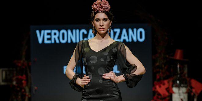 Nueva colección de trajes de flamenca de Ana Ricardi en la Pasarela Flamenca de Jerez 2020. Foto: Christian Cantizano.