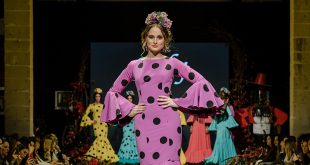 Nueva colección de trajes de flamenca de Faly de Macarena Beato en la Pasarela Flamenca de Jerez 2020. Foto: Christian Cantizano.