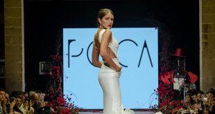 Nueva colección de trajes de flamenca de la firma Peca en la Pasarela Flamenca de Jerez 2020. Foto: Christian Cantizano.