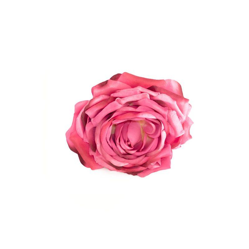 Flores de Flamenca - Flor de flamenca Rosa - Rosa de Tela - Moda Flamenca 2020 - Flores de Flamenca 2020 - Complementos de Flamencas 2020 - Flores de flamencas artesanales - Ramilletes y flores de tela - Flores de flamenca para el pelo -Flores de flamenca rojas - flores de flamenca rosas