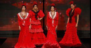 Nueva colección de trajes de flamenca de Alonso Cozar en Simof 2020. Foto: Chema Soler.